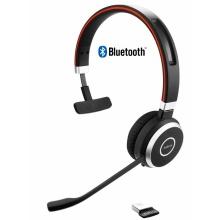EVOLVE-65-MONO Jabra - bezdrátová náhlavní souprava pro PC, Bluetooth, USB, NFC, spona přes hlavu, na jedno ucho
