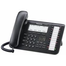 KX-NT546X-B Panasonic - IP systémový tel., 6-řádkový displej, 24 program. tl., černý