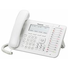 KX-NT546X Panasonic - IP systémový tel., 6-řádkový displej, 24 program. tl., bílý