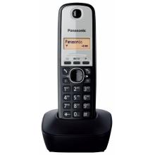KX-TG1911FXG Panasonic - DECT bezdrátový telefon, 1-řádkový displej, CLIP, REDIAL 10 čísel, barva šedá