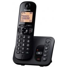 KX-TGC220FXB Panasonic - DECT bezdrátový telefon s displejem, CLIP, GAP, záznamník, barva černá