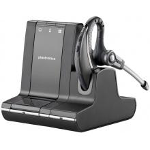 SAVI-W730/A-M Plantronics - bezdrátová náhlavní souprava pro stolní telefon, mobil a PC - za ucho (Microsoft)