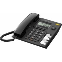 TEMPORIS-56 Alcatel - analogový telefonní přístroj s LCD displejem v černém provedení