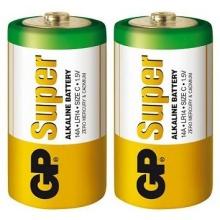 2x Alkalická baterie GP Super LR14 (C)