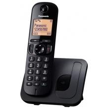 KX-TGC210FXB Panasonic - DECT bezdrátový telefon s displejem, CLIP, GAP, barva černá