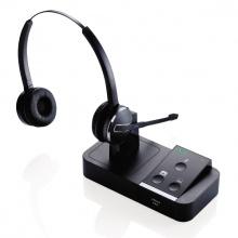 PRO-9450-DUO Jabra - bezdrátová náhlavní souprava pro 2 zařízení najednou - telefon a počítač
