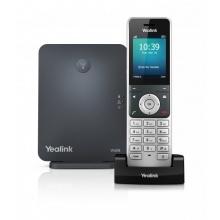 SIP-W60P Yealink - bezdrátový DECT IP telefon s barevným LCD (báze+ručka), POE, 8x SIP, až 8 ruček