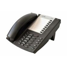 6710a Mitel / Aastra - analogový telefon,  tlačítko příjmu a ukončení hovoru pro náhlavní soupravu