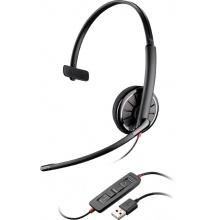 BLACKWIRE-C310 Plantronics - náhlavní souprava pro PC na jedno ucho, spona přes hlavu, tl. přijmu, USB