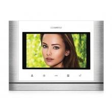 CDV-70M bílý, barevný handsfree videotelefon s 7'' displejem a dotykovými tlačítky, Commax