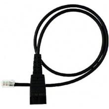 GN-8800-00-01 Jabra - kabel rovný, konektory QD/RJ, pro připojení většiny stolních telefonů, 0,5 m