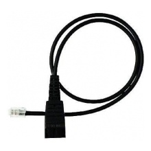 GN-8800-00-37 Jabra - kabel rovný, konektory QD/RJ, pro vybrané telefony CISCO, 0,5 m