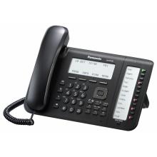 KX-NT556X-B Panasonic - IP systémový tel., 6 řádk. displej, 36 program. tl., černý, pro KX-NSxxx