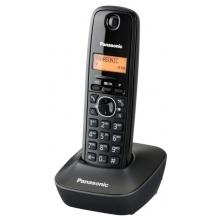 KX-TG1611FXH Panasonic - DECT bezdrátový telefon, 1-řádkový podsvícený displej, CLIP, české menu, barva šedá