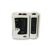 TS-468, jednoduchý TESTER kabelových rozvodů pro RJ45/RJ11/RJ12