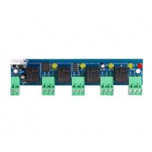 ACB-EA05, rozšiřující modul pro ACB-004, 4 poplachové vstupy + 4 poplachové výstupy, S-Entry