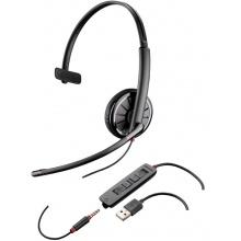 BLACKWIRE-C315.1 Plantronics - náhlavní souprava pro PC/mobil na jedno ucho, přes hlavu, tl. přijmu, USB+3,5 mm jack