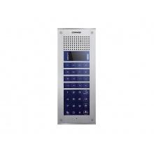 CMP-4BCT/RF1, video stanice MODUM, číselná volba +16 tlačítek, OLED displej, RFID čtečka, Commax