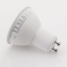 GU100540-5 Tesla - LED žárovka GU10, 5W, 230V, 410lm, 25 000h, 4000K denní bílá, 100°