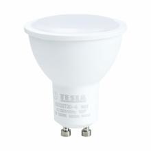 GU100730-4 Tesla - LED žárovka GU10, 7W, 230V, 560lm, 25 000h, 3000K teplá bílá, 100°