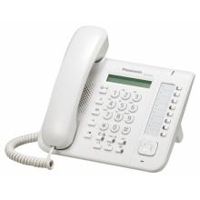 KX-DT521X Panasonic - digitální telefon s 1-řádkovým displejem, 8 programovatelných tlačítek, bílý