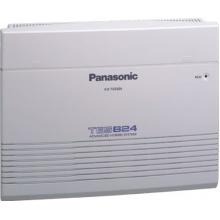 KX-TES824CE Panasonic - analogová ústředna, 3x vnější analogová linka/8x hybridní pobočka, v základu není CLIP