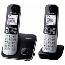 KX-TG6812FXB Panasonic - DECT bezdrátový telefon s 1,8
