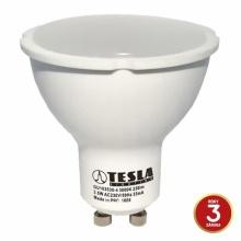 GU103530-4 Tesla - LED žárovka GU10, 3,5W, 230V, 230lm, 25 000h, 3000K teplá bílá, 100°