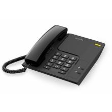 TEMPORIS-26 Alcatel - analogový telefonní přístroj bez displeje v černém provedení