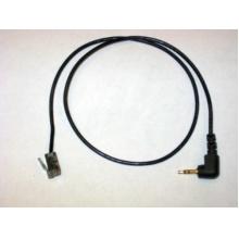 78333-01  Plantronics - redukční kabel s 2,5 mm konektorem na RJ9/RJ10 pro telefony Polycom IP320 a IP330