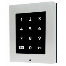 ATEUS-916016 2N Access Unit Touch Keypad, autonomní IP dotyková klávesnice, bez krycího rámečku