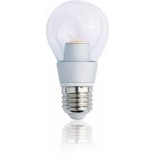BL270523-1C Tesla - LED žárovka BULB E27, 5W, 230V, 400lm, 30 000h, 2300K teplá bílá, 300°,čirá