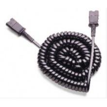 EXTENSION-CABLE Plantronics - prodlužovací kroucený kabel s QD konektory, délka 60 – 220cm (38051-03)