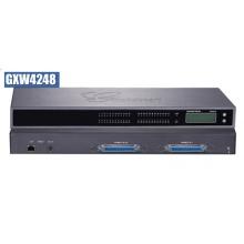 GXW-4248 Grandstream - IP brána, 1xRJ45 1Gb, 48xSIP účtů, 2x RJ21, LCD