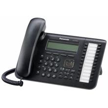 KX-DT543X-B Panasonic digitální telefon s podsvětleným 3-řádkovým displejem, 24 programovatelných tlač., černý