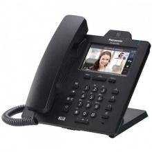 KX-HDV430NE-B Panasonic - SIP telefon, 4řádkový displej, vestav. kamera, 24 progr. tlač., bloetooth, NS/HTS, černá