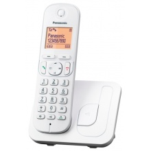 KX-TGC210FXW Panasonic - DECT bezdrátový telefon s displejem, CLIP, GAP barva bílá