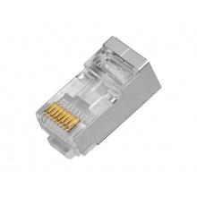RX-RJ45CF, konektor RJ-45 pro datový kabel FTP, 8 kontaktů, CAT.5E, 1000BASE-TX, RXTEC