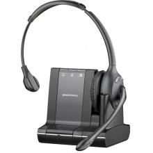 SAVI-W710/A-M Plantronics - bezdrátová náhlavní souprava pro stolní telefon, mobil a PC -na jedno ucho (Microsoft)