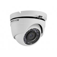 DS-2CE56D0T-IRMF/28, venkovní dome AHD/TVI/CVI/CVBS kamera 2 Mpx, f2.8mm, IR 20m, Hikvision
