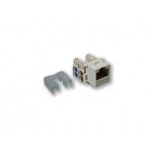 KJ-007 UPD/C6, horní osazování, CAT.6, bílá