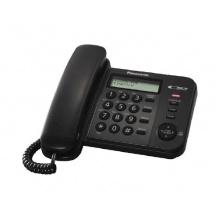 KX-TS560FXB Panasonic - jednolinkový tel., displej, Data port, CLIP, barva černá