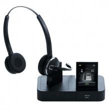 PRO-9460-DUO Jabra - bezdrátová náhlavní souprava s LCD, pro 2 zařízení najednou - telefon a počítač