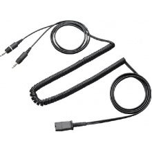 U-CA Plantronics - kabel pro připojení náhlavek do zvukové karty PC, 2x3,5 mm konektor (28959-01)