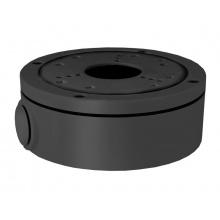 B320 tmavá, venkovní montážní patice pro kompaktní a dome kamery VBxx, VDxx, průměr 138mm, SView