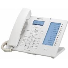 KX-HDV230NE Panasonic - SIP telefon, 4řádkový displej, 2 SIP účty, 24 progr. tlač.,PoE, pro NS/HTS, bílá