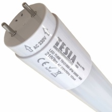 T8121850-3FM Tesla - LED trubice, SMD technologie, T8, G13, 1200mm, 18W, 230V, 2160lm, 5000K, mléčná