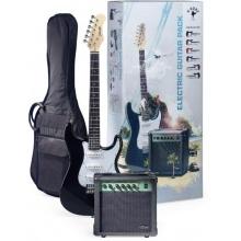 Stagg SURFSTAR 250 BK, kytarová sada