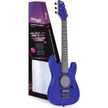 Stagg GAMP200-BL, dětská elektrická kytara