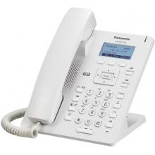 KX-HDV130NE Panasonic - SIP telefon, 4řádkový displej, 2 SIP účty, PoE, pro NS/HTS, piktogr, čeština, barva bílá